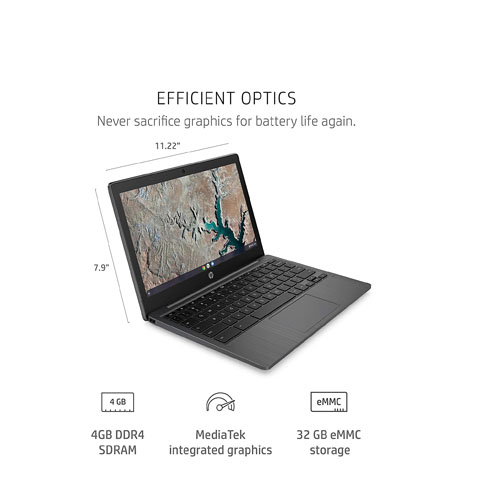 HP Chromebook MT8183-3